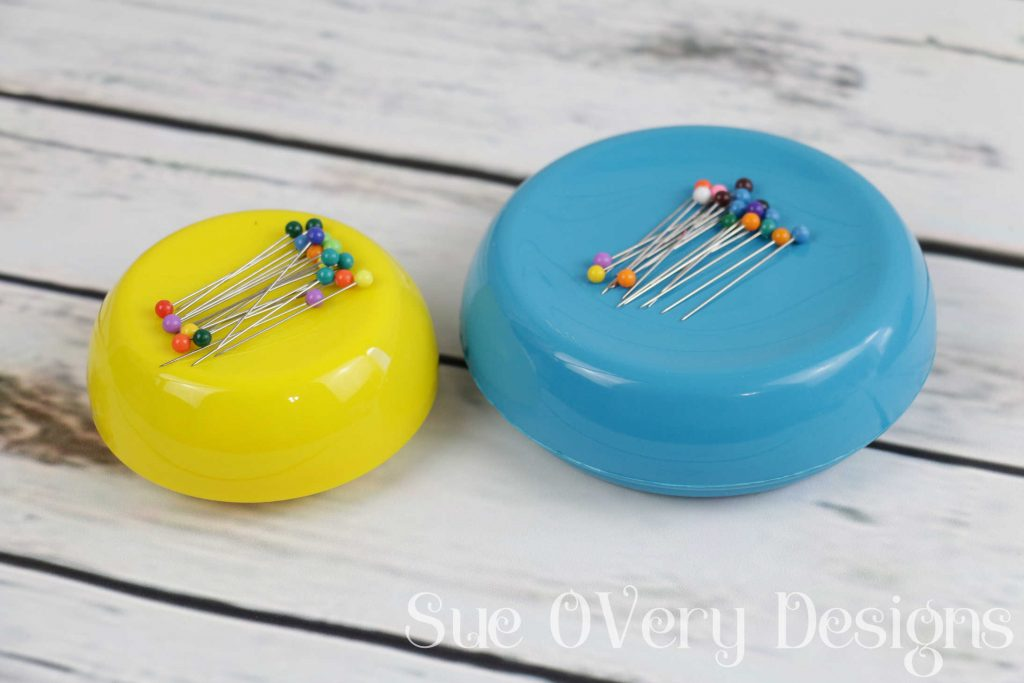 How to use the grabbit magnetic pin cushion, magnetic pin cushion, sewing notion, Does this notion really work_