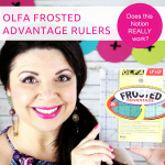 How to use the OLFA Frosted Advantage Rulers