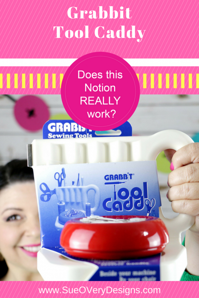 How to use the Grabbit tool caddy, sewing notion, sewing room organization, Does this notion really work_