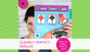 How to use Clearly Perfect Angles