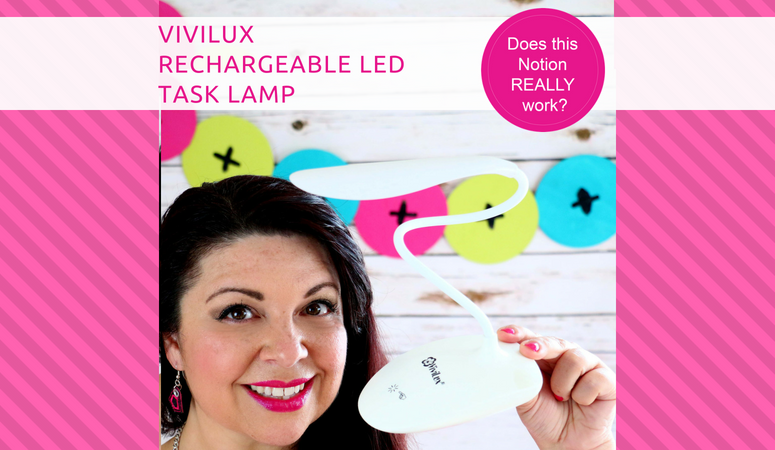 How to use the Vivilux Rechargeable LED Task Lamp