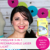 Vivilux 3-in-1 Rechargeable Laser System – Sewing Notion