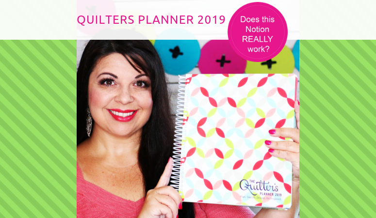 Quilters Planner 2019 – Review
