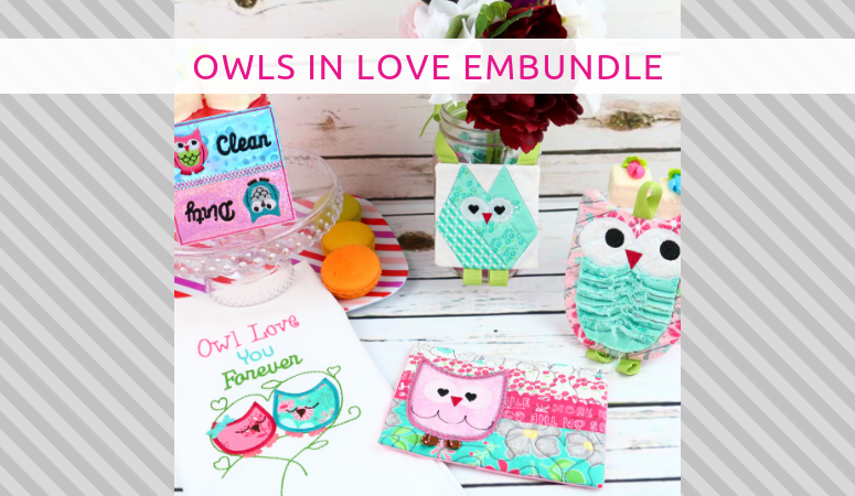 Owls In Love EmBundle