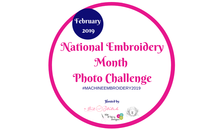 National Embroidery Month 2019