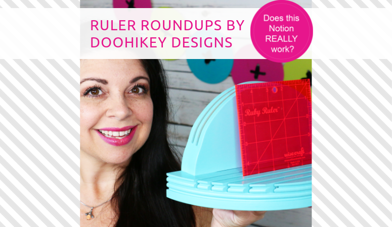 How to use the Ruler RoundUps by Doohikey Designs