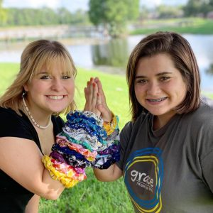scrunchie party - how to make scrunchie - next generation sewist