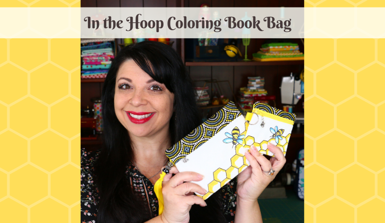 Coloring Book Bag In the Hoop