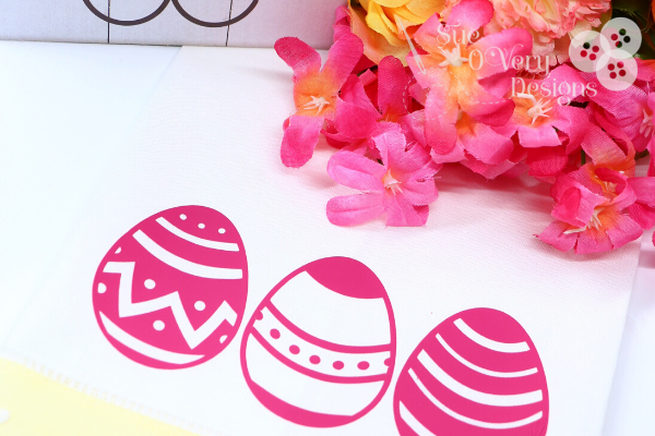 HOW TO MAKE A EASTER TOWEL USING THE CRICUT CUTTING MACHINE AND EASYPRESS 2